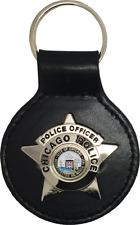 CHICAGO POLICE STAR KEY FOB: Police Officer