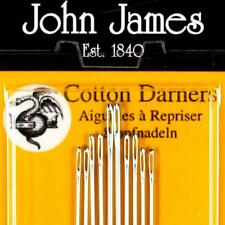 COTTON DARNER NEEDLES SIZE 1-5 PACK OF 10 NEEDLES