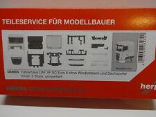 Herpa 084604 Fahrerhaus DAF XF SC Euro 6 ohne Windleitblech 2 Stck 1:87 Neu