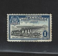 Moz Company Portugal Colonial | 1935 | Bridge over the Zambezi | Mint Hinged OG