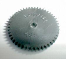 """48 Tooth Nylon Spur Gear with 1/8"""" hole #4806 by Rannalli Slot Car 1960's Nos"""