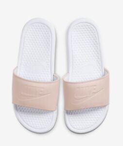 Nike Benassi JDI One of One Slide Womens Sandals Pink White CW5823 100 Size 11