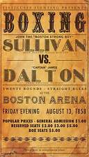 vintage boxing promo  A1 SIZE PRINT -poster  FOR YOUR FRAME