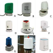 24V 230V NO NC Smart electric thermal actuator  radiatorFloor Heat M30X1.5