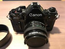 Excellent Canon A1 A-1 35mm SLR Camera & 50mm FD F1.8 Canon Lens