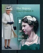 British Virgin Islands BVI 2016 MNH Queen Elizabeth II 90th Bday 1v S/S Stamps