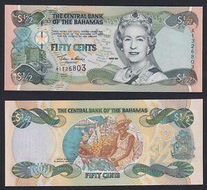 Bahamas 50 cents 2001 FDS/UNC  A-07