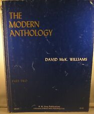 David McKay Williams The Modern Anthology Part Two for organ