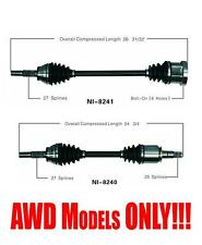 Front New Left and Right Axles for Infiniti FX35 2003-2008 AWD Models ONLY!!!