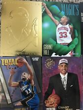 Grant Hill Rookie & Insert Card Lot SP Gold 27 Cards Nice Total o Stadium Club