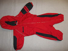 COLUMBIA SNOW SUIT 1 PC BUNTING HOOD FLEECE LINED INFANT BABY BOY'S 12 MONTHS