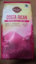 Wellsley Farms - Whole Bean Coffee - Costa Rican Blend - 40oz Bag - New & Fresh!