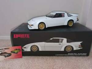 1:18 Biante Mazda RX7 Group C Plain White Limited Edtion of just 500 made
