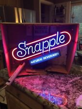 Snapple -   Lighted Neon Sign  - NEW IN BOX NEVER USED!!!