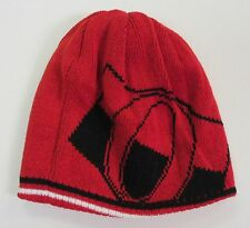NHL OTTAWA SENATORS REVERSIBLE RED W/ LARGE LOGO BEANIE CAP STOCKING HAT *NEW*