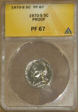 1968-S 5C Jefferson Head Nickel PF 67 ANACS 4528570 + Bonus