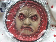 Gory Gorey Cherry Pie Face Bloody Body Parts Halloween Prop Decoration Joke Gag
