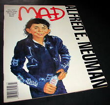 MAD Magazine 277 March 1988 Michael Jackson BAD Elfred E. Neuman Humor ROBOCOP
