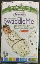 Large 14-20 Lb Summer Infant Swaddleme  Adjustable Infant Wrap Uni Monkey Fun