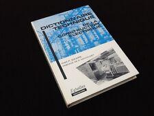 Dictionnaire Technique de la Construction Electrique Par P. Sizaire (1968)