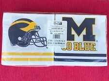 Michigan Wolverines College Football 150 Party Napkins NFL NCAA AWESOME!