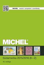 Michel Übersee Volumen 3 Parte 2 2015/2016, América del sur (K Z) NUEVO