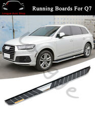 2PCS Running Boards Side Step Nerf Bars fits for Audi Q7 2016 2017 2018