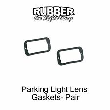 1961 1962 1963 1964 Ford Galaxie Parking Light Lens Gasket - Pair