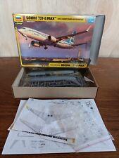 Zvezda 1/144 Boeing 737-8 MAX Civil Airliner # 7026 model kit  sealed bags #25