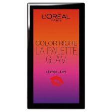 L'oréal color Riche la paleta glamour labios set