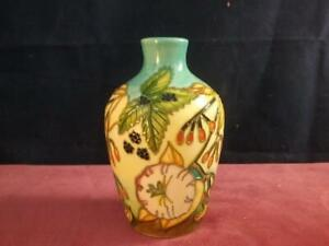 Stunning  Rare Moorcroft Pottery  Seasons  Spring Pattern  Vase Debbie Hancock