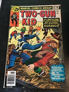 Two Gun Kid#131 Awesome Condition 6.0(1976) Two-gun Unmasked