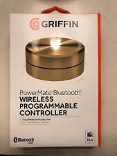 Griffin PowerMate Bluetooth Programmable Controller Gold iTunes GarageBand Mac