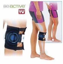 Black Be active Brace Point Pad Leg for Back Pain Acupressure Sciatic Nerve LA