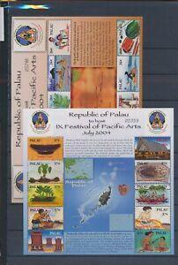 XC89636 Palau pacific arts festival sheets XXL MNH