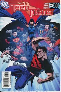 Teen Titans #26 (2005 3rd Series) NM-, Superboy, Raven