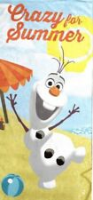 OLAF THE SNOWMAN Children's Beach Bath Towel FROZEN Disney