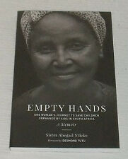 Empty Hands Book by Sister Abegail Ntleko Paperback NEW
