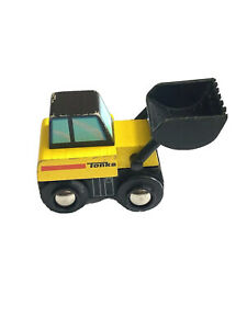 Tonka Wooden Work Truck Tractor Construction  kids toy front loader