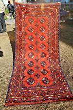 Beautiful Turkoman Morey Bokhara Carpet Runner,Stunning Fine Quality Turkmen Rug