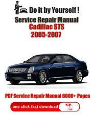 Cadillac STS 2005, 2006, 2007 PDF 6000+ Pages Service Repair Manual