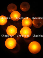 48 LED Amber Mini Fairy Lights Waterproof Floating Ball Party Wedding Decorate