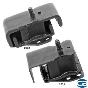 For 75-79 FRont Right & Left Engine Motor Mounts 2Pcs Set for Nissan 620 L4 2.0L