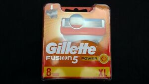 Gillette Fusion 5 Power Blades Pack Of 8 XL