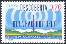 Andorra 1994 Europa/invenciones/Radio Mástil/comunicaciones/telecomunicación 1v (n44098)