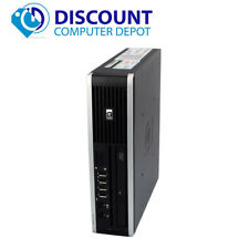HP 8000 Elite USFF Desktop Computer PC C2D 3.0GHz 4GB 160GB Windows 10 Home