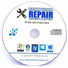 Limpiador de registro recuperar lento PC Laptop Fix CD Discos Dvd