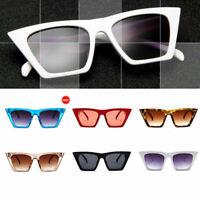 New Fashion Oversized Sunglasses Cat Eye Flat UV400 Eyewear Gradient Square