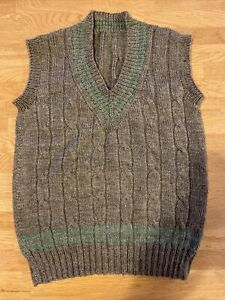 Boys Hand Knitted Tank Top Jumper
