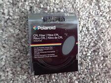 POLAROID 55mm Optics Multi-coated Circular Polarizer Filter CPL 55 mm BNIB